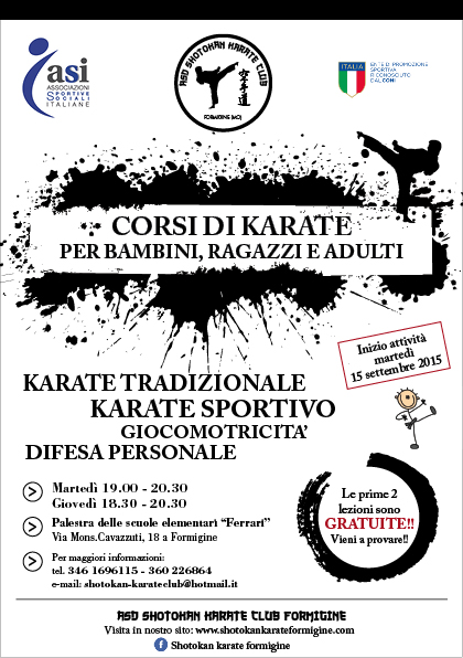 lezioni di karate