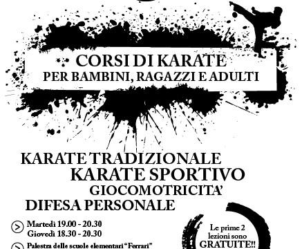 corsi karate